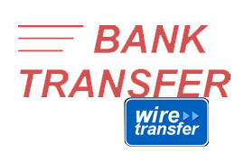 Direct Wire Transfer to our Business Bank Account